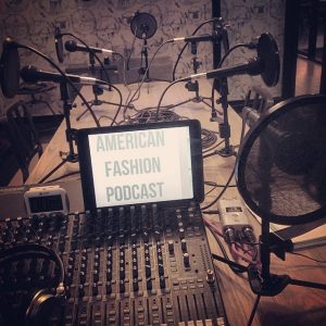 American Fashion Podcast - episodes list page