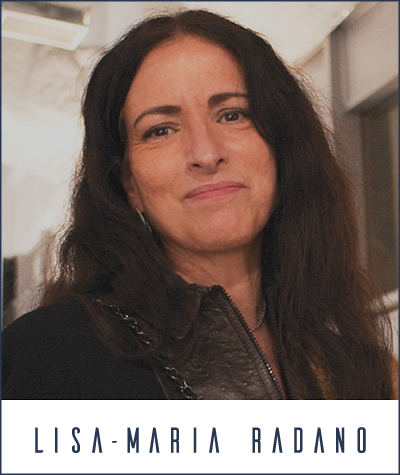 writer Lisa-Maria Radano