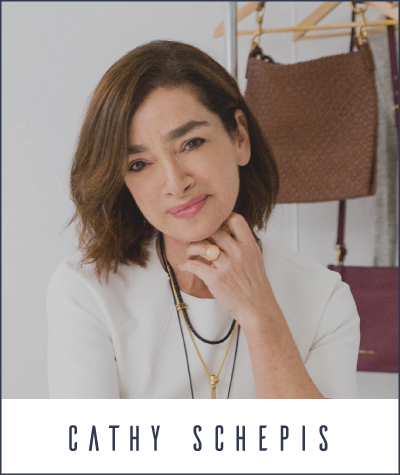fashion business leader Cathy Schepis, co-host of American Fashion Podcast