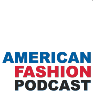 Americna Fashion Podcast Logo, created in May 2018